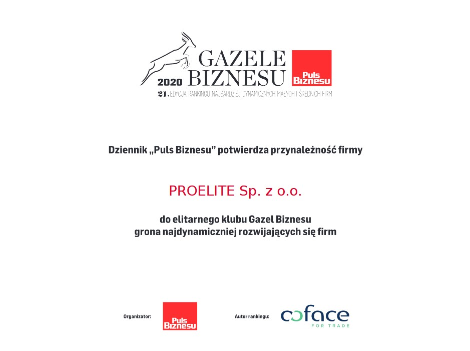 Gazele biznesu ProElite