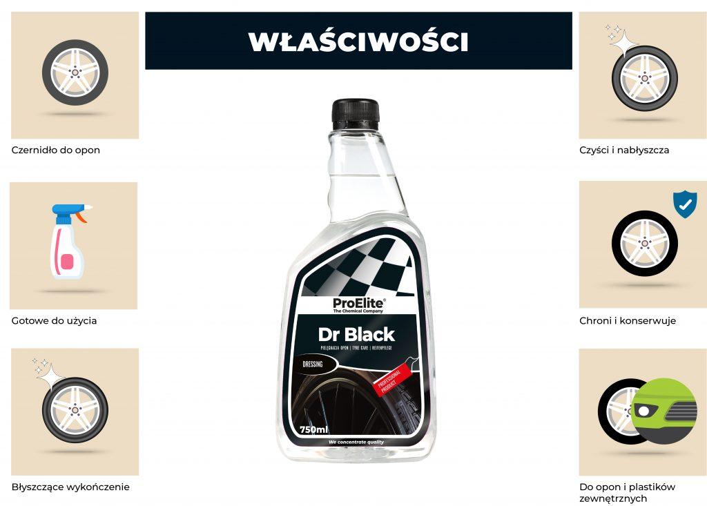 Informacje o produkcie dr black proelite