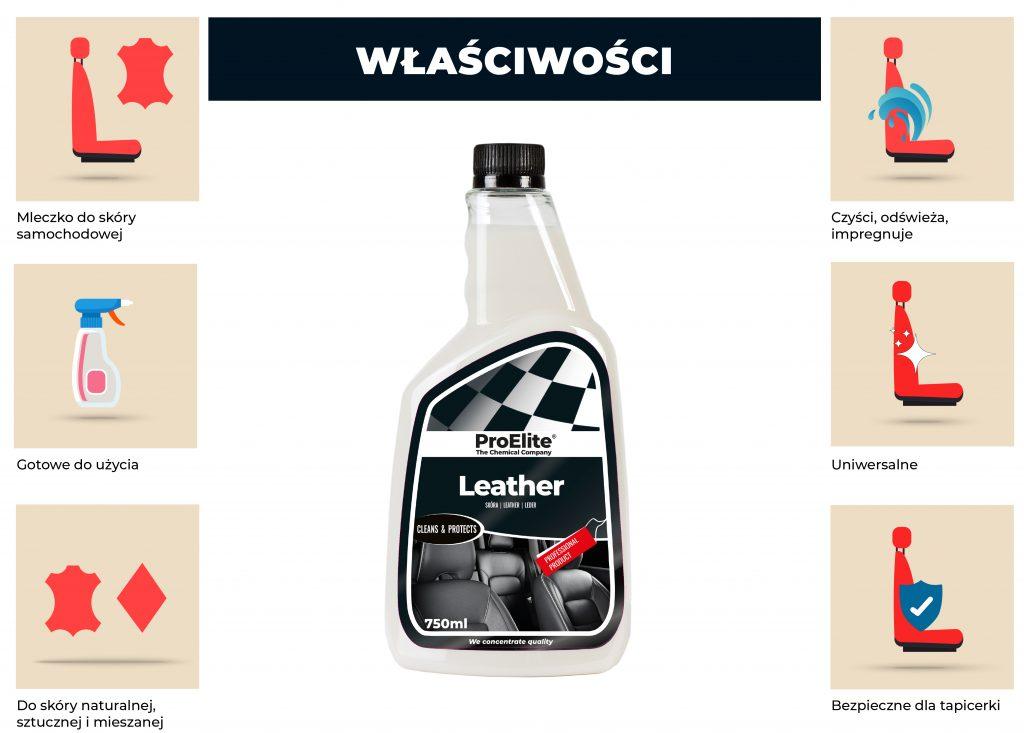 proelite leather zastosowanie produktu